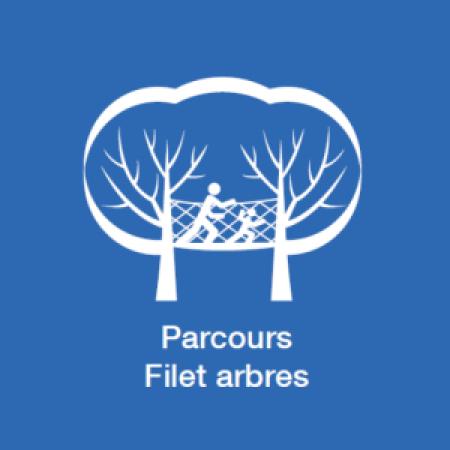 Parcours filet Arbres
